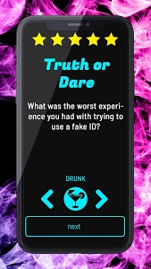 screenshot of Truth or Dare - Dirty Party Game version 1.0