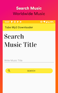 screenshot of Tube Mp3 Downloader version 1.17