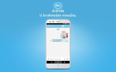 screenshot of BiP Messenger version 3.2.12