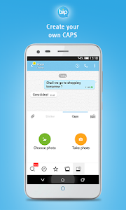 screenshot of BiP Messenger version 3.9.20