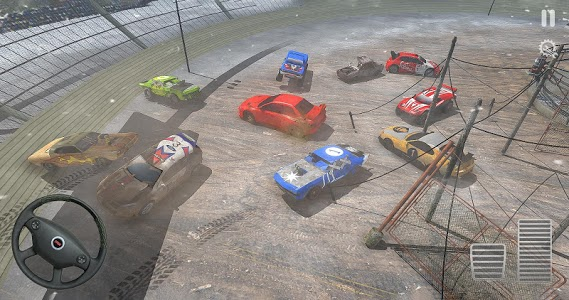 screenshot of USA Demolition Derby 2019 version 1.0