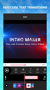 screenshot of Intro Maker With Music, Video Maker & Video Editor version 1.6.266
