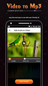 screenshot of Video to Mp3 Converter, Ringtone Maker & Add Music version 1.0.1