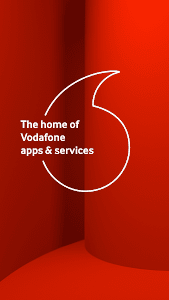 screenshot of Vodafone Start version Varies with device
