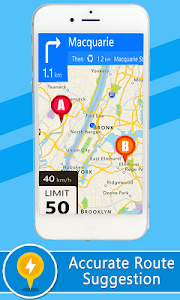 screenshot of Voice GPS Driving Directions – Lite version 2.0.3