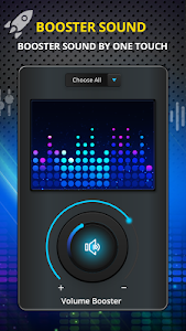 screenshot of Volume Booster - Bass Booster with Equalizer version 1.11