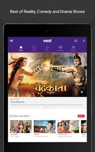 screenshot of Voot TV Shows Movies Cartoons version 2.1.44