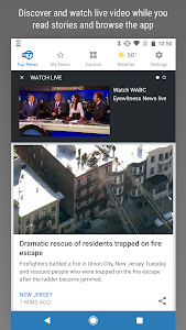 screenshot of WABC Eyewitness News version 7.10