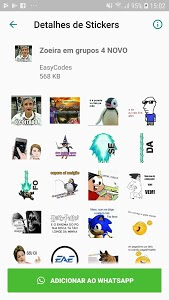 screenshot of WAStickerApps - Stickers for Whatsapp version 1.0.22