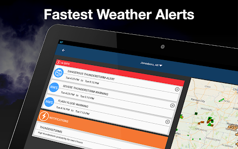 screenshot of Weather by WeatherBug: Real Time Forecast & Alerts version Varies with device