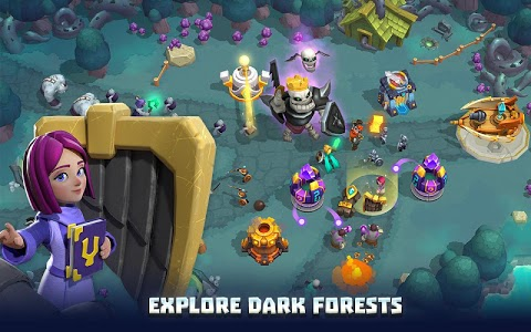 screenshot of Wild Sky TD - 3D Survival Tower Defense Game version 1.1.20