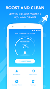 screenshot of Wind Cleaner - Clean your phone version 1.4.7