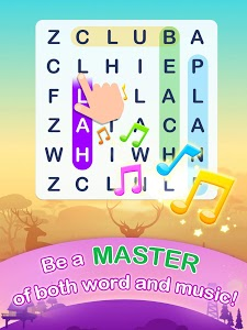 screenshot of Word Search Pop - Free Fun Find & Link Brain Games version 2.0.4