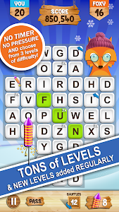 screenshot of Words with Foxy version 2.1.27
