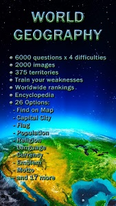 screenshot of World Geography - Quiz Game version 1.2.109