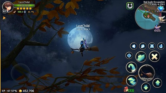 screenshot of World of Prandis (Non-Auto Real MMORPG) version 1.7.4