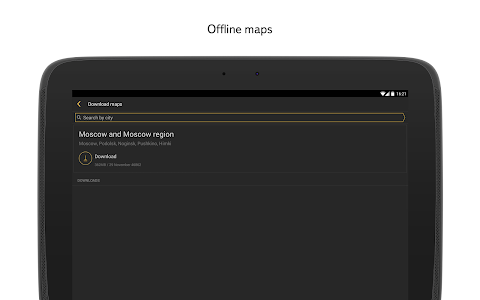 screenshot of Yandex.Navigator version 1.66