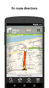 screenshot of Yandex.Navigator version 1.71