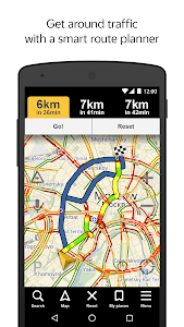 screenshot of Yandex.Navigator version Varies with device