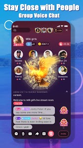 screenshot of Yome Live - Live Stream, Live Video & Live Chat version 3.4.0