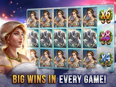 screenshot of God of Sky - Huge Slots Machines version 2.8.3402