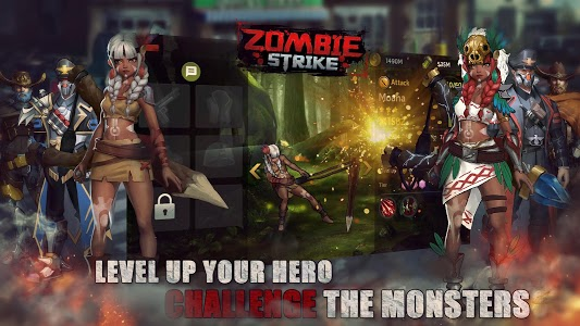 screenshot of Zombie Strike : The Last War of Idle Battle (SRPG) version 1.11.31