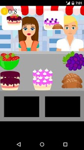 screenshot of bakery shop game version 1.0