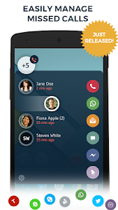 screenshot of Contacts Phone Dialer: drupe version 2.005.00118-Rel