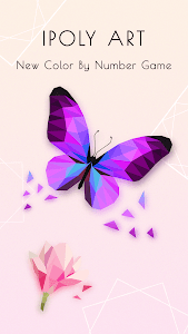 screenshot of iPoly Art - Jigsaw Puzzle Game, Coloring by Number version 2.2.3