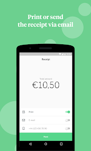screenshot of iZettle Go: the easy POS version 5.25.3