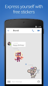 screenshot of imo free video calls and chat version 9.8.000000008251