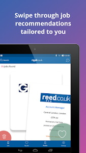screenshot of reed.co.uk Job Search - apply to over 250,000 jobs version 3.3.1023