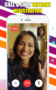 screenshot of video calling - live chat random chat roulette version 1.0