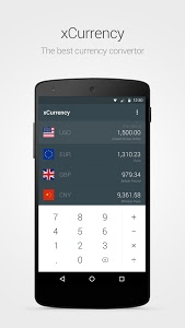 screenshot of xCurrency - Smart Currency version 1.1.5