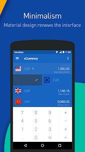 screenshot of xCurrency - Smart Currency version 1.2.6