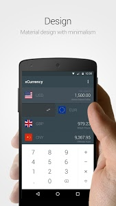 screenshot of xCurrency - Simple,Smart,Fast version 1.0.6